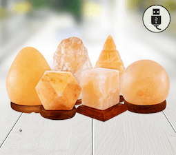 USB Crafted Salt Lamps